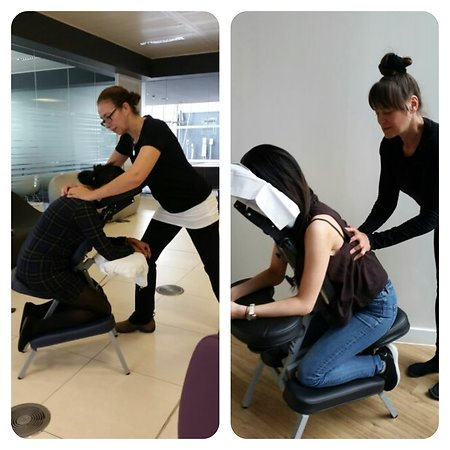 Office & Event Massage. chairmassage2